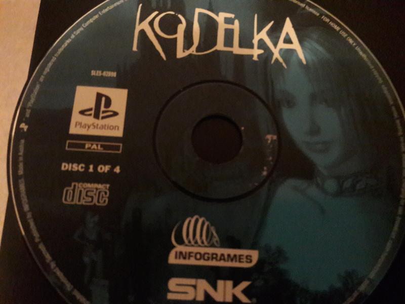 [EST] Koudelka PS1 Complet, DLC en boite The Witcher 3 PS4  20180512