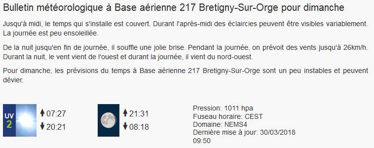 BRETIGNY Sur ORGE Concours du 1 Avril 2018 Meteo_11