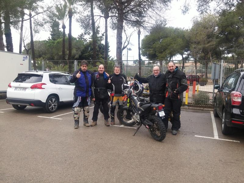 1ª Kdd del año....Vilanova i La Geltru 20180212