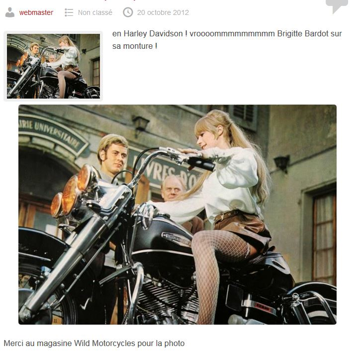 Ils ont posé avec une Harley, principalement les People - Page 38 Fau10