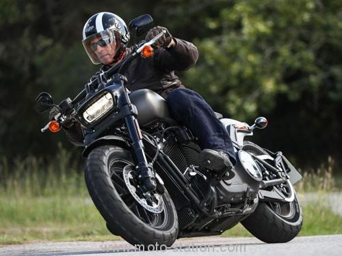 Avis et comparatif fat bob..nouveau..ancien Harley11
