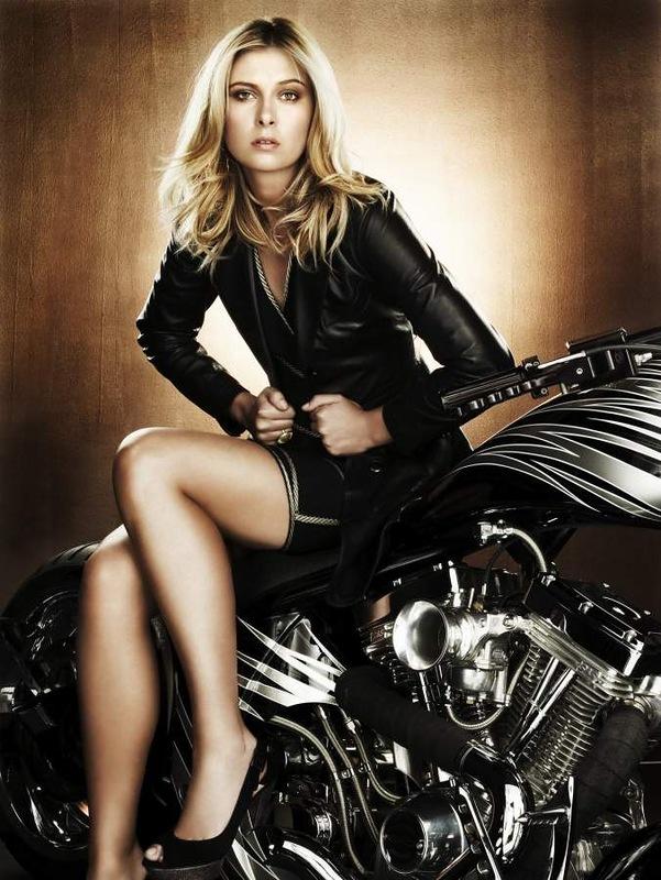 Ils ont posé avec une Harley, uniquement les People - Page 4 Maria10