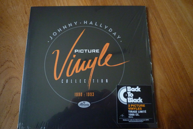 PICTURE VINYLE COLLECTION 1990 - 1993 P1590319