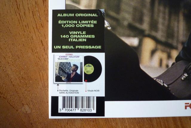 """33 tours """"succés"""" réédition disque italien de chez LMLR P1590486"""