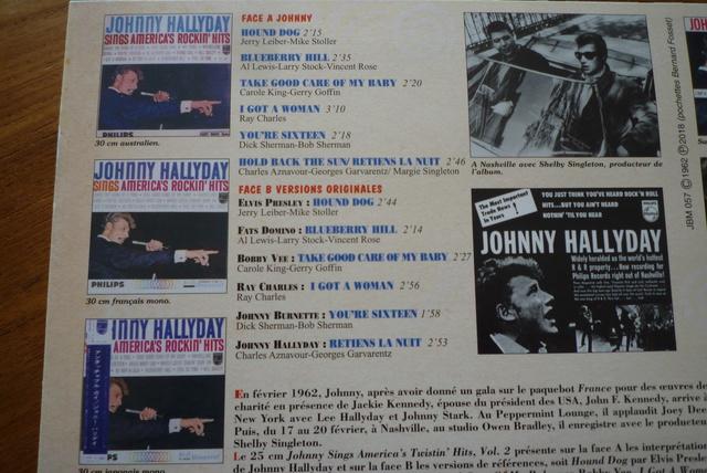 25CM JOHNNY SINGS AMERICA'S volume 2 de chez JBM P1590532