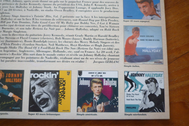 25CM JOHNNY SINGS AMERICA'S volume 2 de chez JBM P1590534