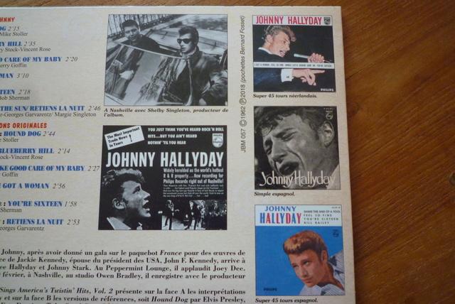 25CM JOHNNY SINGS AMERICA'S volume 2 de chez JBM P1590536