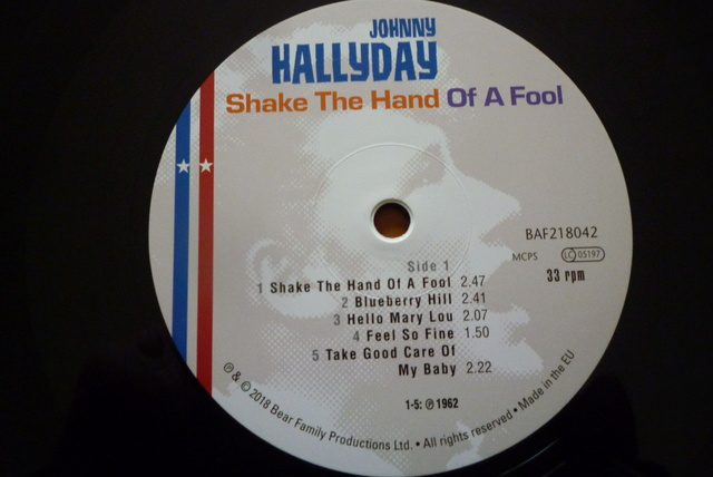 "double 33 tours ""shake the hand of a fool "" de Bear Family records P1590560"