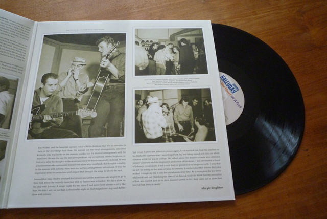 "double 33 tours ""shake the hand of a fool "" de Bear Family records P1590563"
