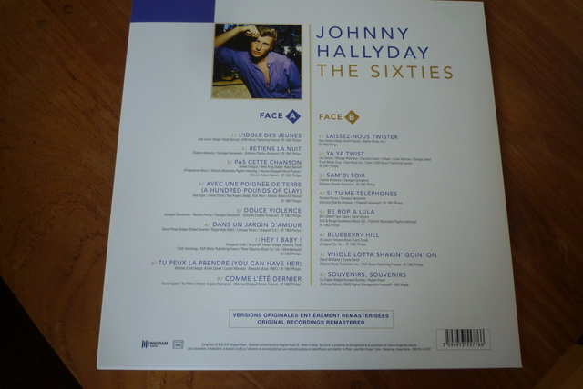 """33 tours """"the sixties"""" édité par WAGRAM P1590779"""