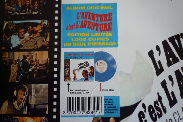 """33 tours """"l'aventure c'est l'aventure"""" édité par LMLR P1590783"""
