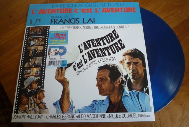 """33 tours """"l'aventure c'est l'aventure"""" édité par LMLR P1590785"""