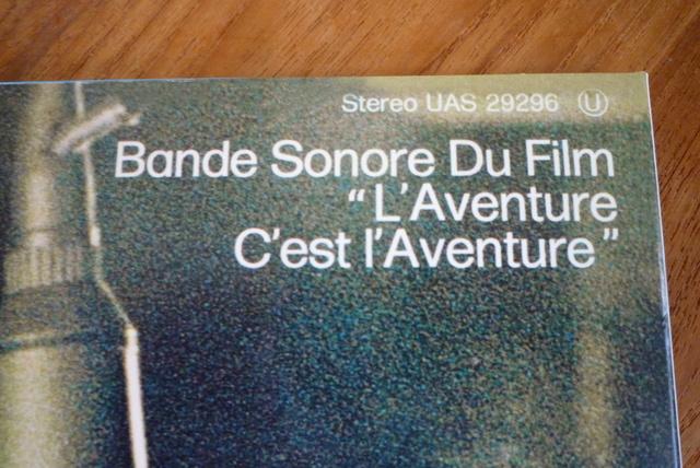 """33 tours """"l'aventure c'est l'aventure"""" édité par LMLR P1590786"""