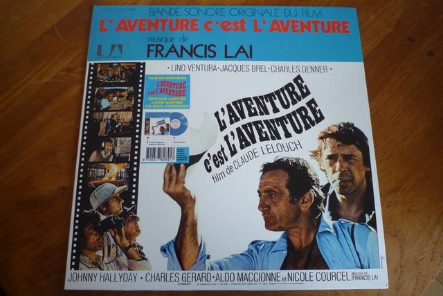 """33 tours """"l'aventure c'est l'aventure"""" édité par LMLR P1590787"""