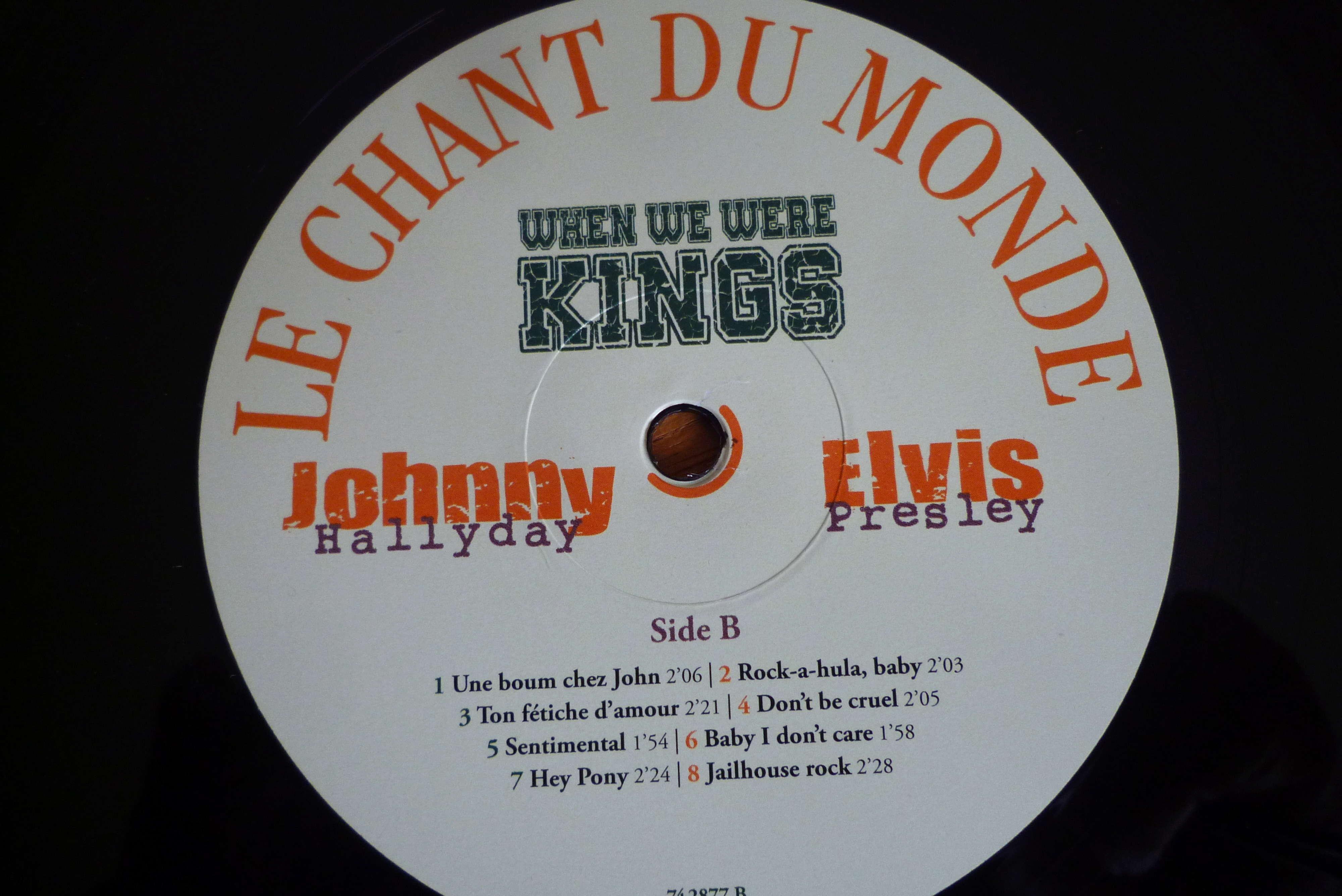 """double 33 tours """"when we were KINGS"""" édité par le chant du monde P1590822"""