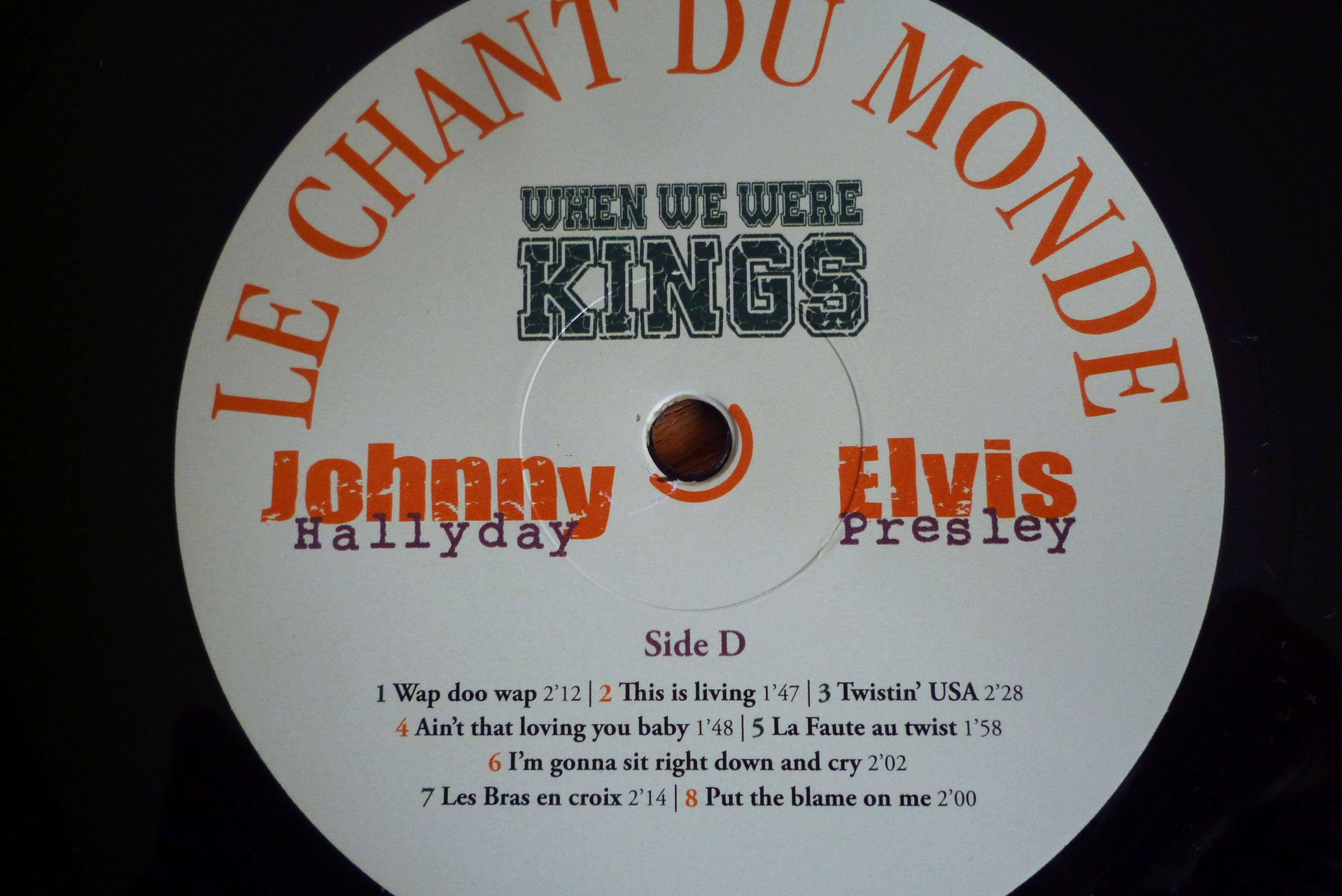 """double 33 tours """"when we were KINGS"""" édité par le chant du monde P1590825"""