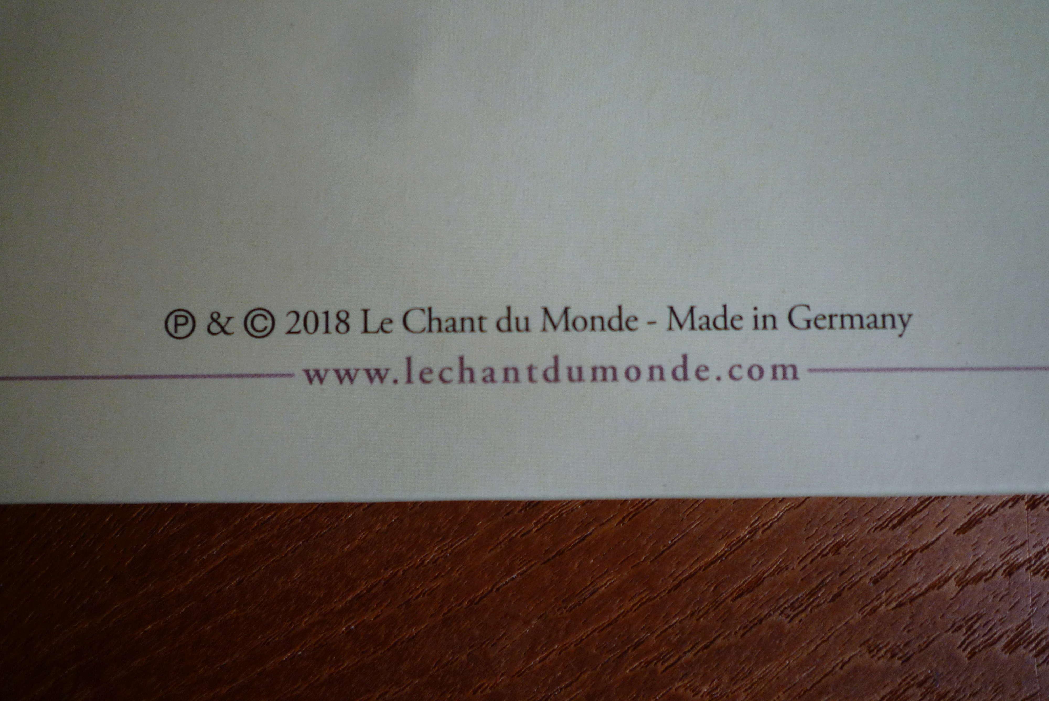 """double 33 tours """"when we were KINGS"""" édité par le chant du monde P1590826"""