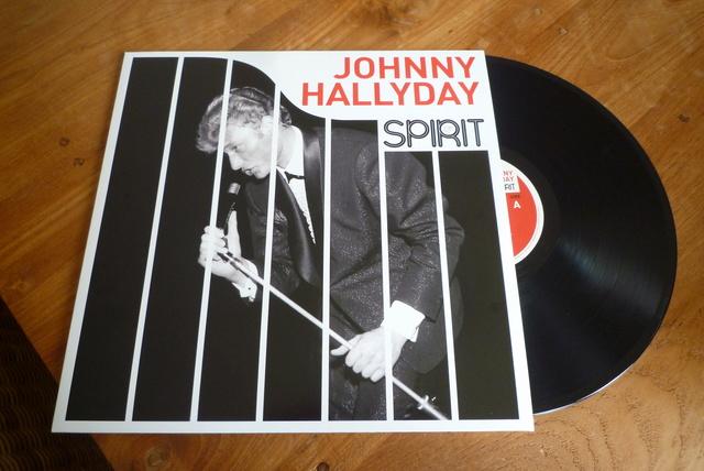 """33 tours """" spirit of Johnny Hallyday"""" édité par Wagram music P1590834"""