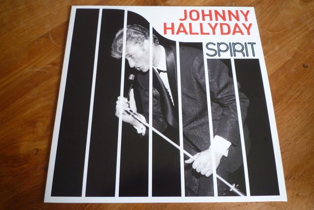 """33 tours """" spirit of Johnny Hallyday"""" édité par Wagram music P1590837"""