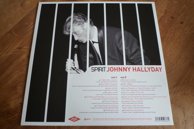 """33 tours """" spirit of Johnny Hallyday"""" édité par Wagram music P1590838"""