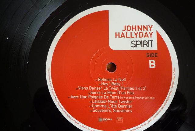 """33 tours """" spirit of Johnny Hallyday"""" édité par Wagram music P1590841"""