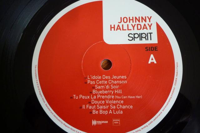 """33 tours """" spirit of Johnny Hallyday"""" édité par Wagram music P1590842"""