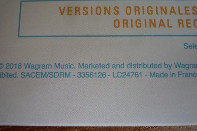 """33 tours """" sam'di soir """" édité par Wagram music P1590859"""