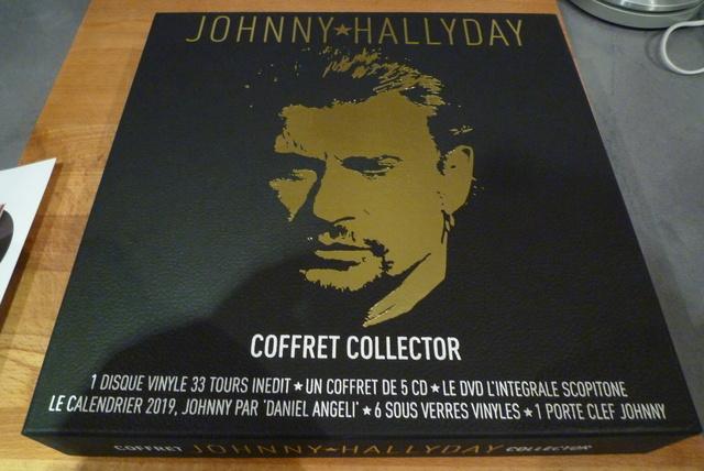 """coffret collector """"JOHNNY HALLYDAY"""" édité par MATCHA P1600431"""