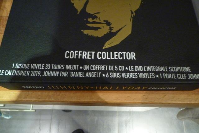 """coffret collector """"JOHNNY HALLYDAY"""" édité par MATCHA P1600432"""