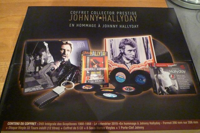 """coffret collector """"JOHNNY HALLYDAY"""" édité par MATCHA P1600434"""