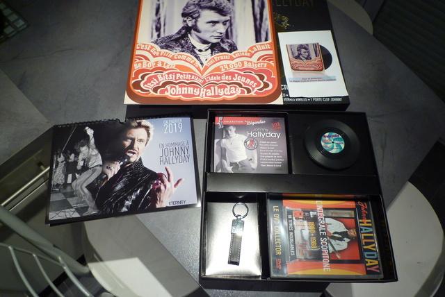 """coffret collector """"JOHNNY HALLYDAY"""" édité par MATCHA P1600438"""