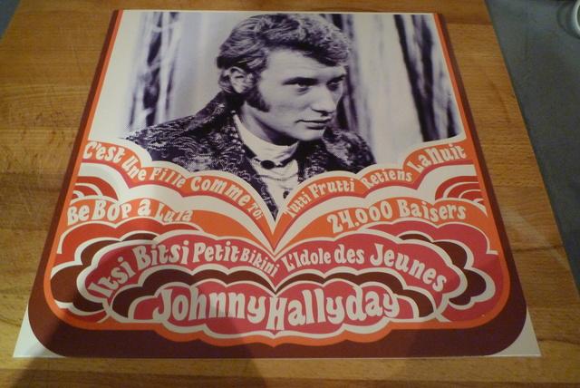 """coffret collector """"JOHNNY HALLYDAY"""" édité par MATCHA P1600441"""