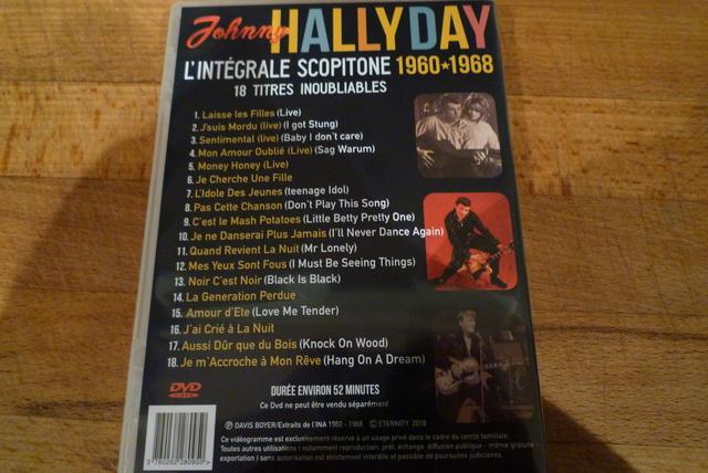 """coffret collector """"JOHNNY HALLYDAY"""" édité par MATCHA P1600463"""
