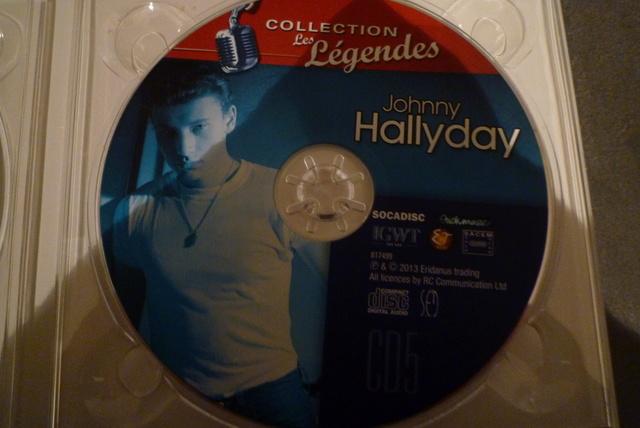 """coffret collector """"JOHNNY HALLYDAY"""" édité par MATCHA P1600465"""