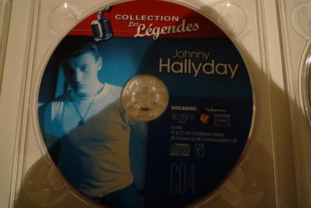 """coffret collector """"JOHNNY HALLYDAY"""" édité par MATCHA P1600467"""