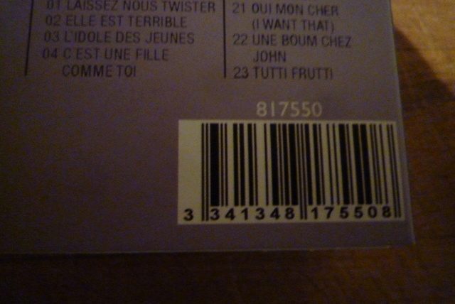 """coffret collector """"JOHNNY HALLYDAY"""" édité par MATCHA P1600468"""