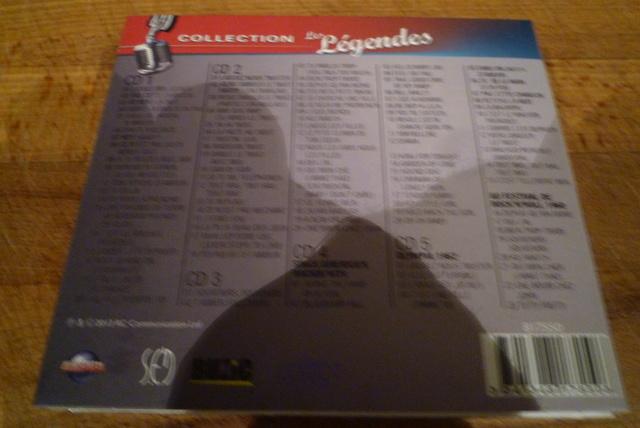 """coffret collector """"JOHNNY HALLYDAY"""" édité par MATCHA P1600470"""