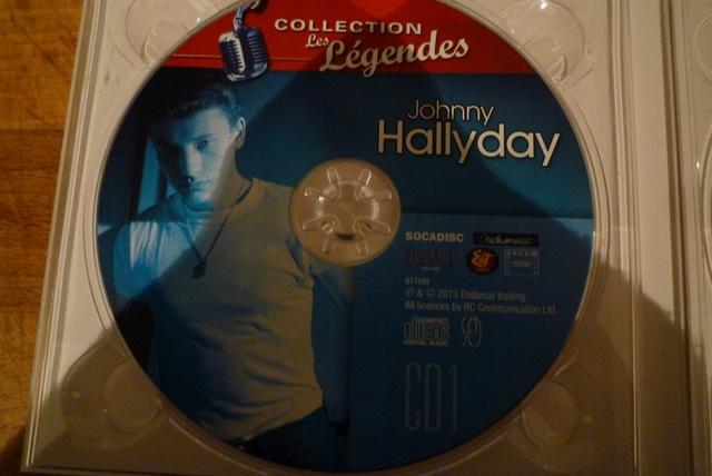 """coffret collector """"JOHNNY HALLYDAY"""" édité par MATCHA P1600471"""