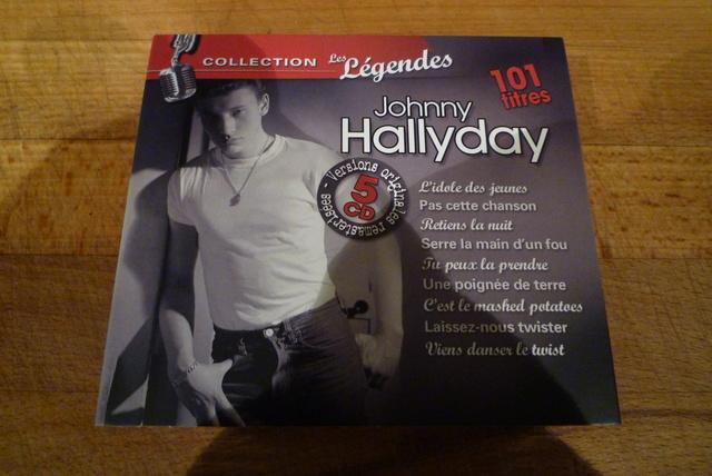 """coffret collector """"JOHNNY HALLYDAY"""" édité par MATCHA P1600472"""