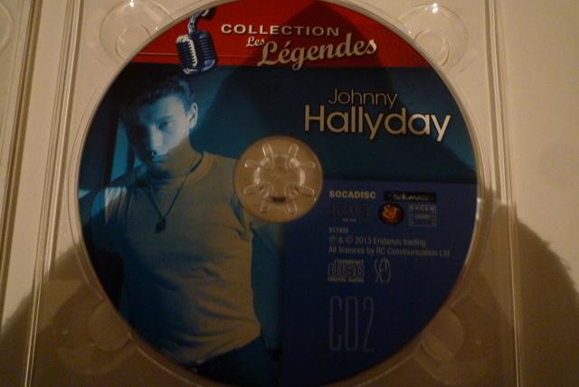 """coffret collector """"JOHNNY HALLYDAY"""" édité par MATCHA P1600473"""