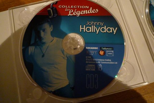 """coffret collector """"JOHNNY HALLYDAY"""" édité par MATCHA P1600474"""