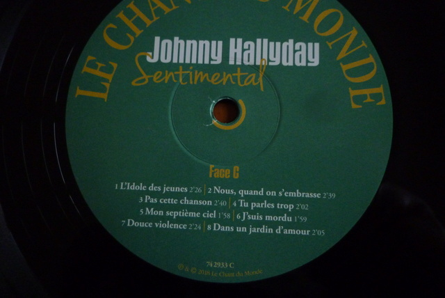 """double 33 tours """"sentimental"""" édité par Le chant du monde P1600486"""