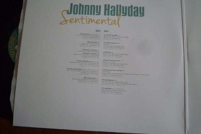 """double 33 tours """"sentimental"""" édité par Le chant du monde P1600487"""