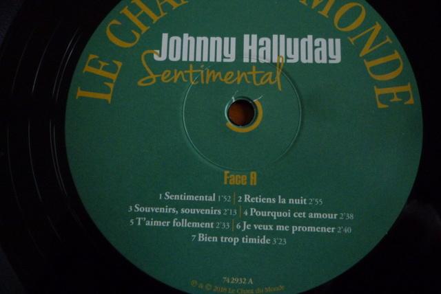 """double 33 tours """"sentimental"""" édité par Le chant du monde P1600491"""