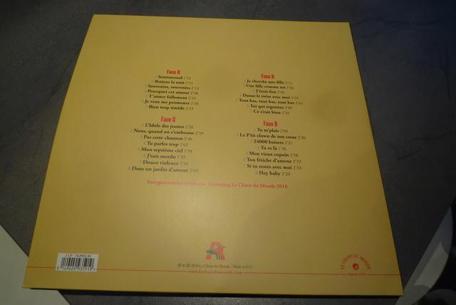 """double 33 tours """"sentimental"""" édité par Le chant du monde P1600494"""