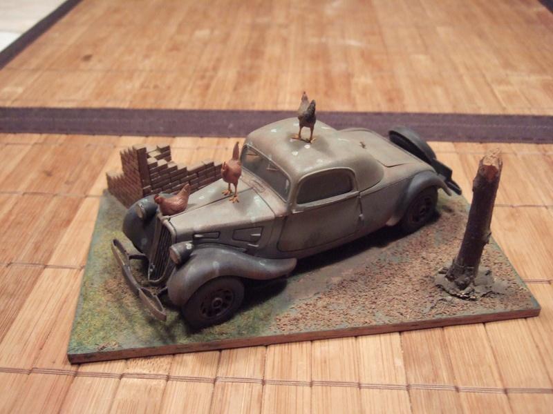 Traction Avant 6e RCA 1945 1/32 Citroe10