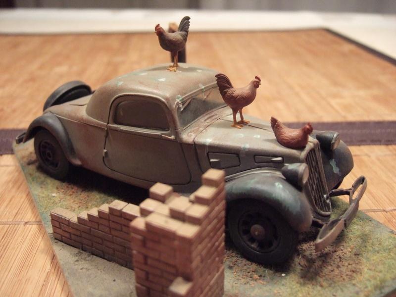 Traction Avant 6e RCA 1945 1/32 Citroe11