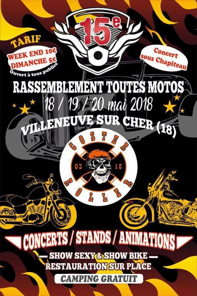 18/19/20 mai 2018 Villeneuve sur Cher 22815410