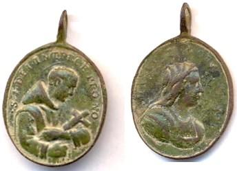 Médaille de l'Ordre de l'Hôpital de St-Jean-de-Dieu - XVII/XVIIIème Scann105