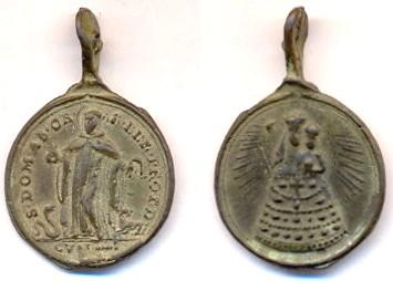 Médaille St-Dominique Abate - XVII/XVIIIème Scann106